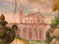 Chiesa e convento di San Francesco, particolare dall'affresco del Varotari
