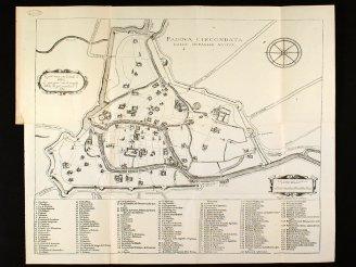 1623.Mappa di Padova realizzazione di Angelo Portenari