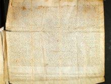 Testamento pergamenaceo di Sibilia (Archivio di Stato di Padova)