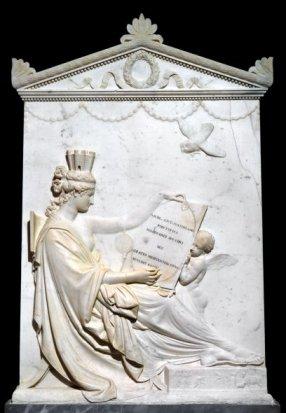 stele celebrativa, opera di Andrea Canova