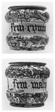 Antichi vasi della farmacia dell'Ospedale