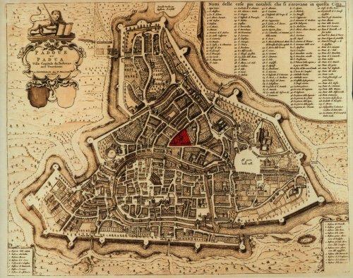Pianta della città di Padova
